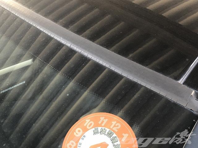 【E90】BMW フロントウィンドウアッパーモール交換
